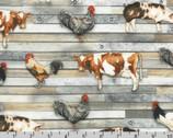 Farmhouse - Farm Animals Country from Robert Kaufman