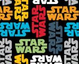 Star Wars Refresh FLEECE - Star Wars from Camelot Fabrics