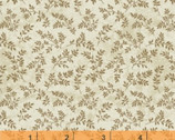 Afternoon Tea - Vine Leaves Tan by Whistler Studios from Windham Fabrics