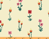 Meriwether - Folk Fleur Cream by Amy Gibson from Windham Fabrics