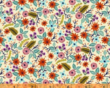 Meriwether - High Meadow Floral Cream by Amy Gibson from Windham Fabrics
