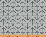 High Tide - Anchors Gray by Whistler Studios from Windham Fabrics