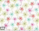 Doodle Daisy - Flower Puffs Garden from Michael Miller