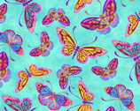 Marblehead Butterflies Are Free - Butterfly Blue by Ro Gregg from Paintbrush Studio