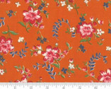 Spring A Ling - Apron Floral Orange by American Jane from Moda