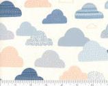 Wild Free - Cloud Skies Natural by Abi Hall from Moda