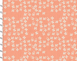 Give Me The Sea - Blooms Coral by Amylee Weeks from 3 Wishes Fabric