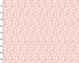 Dwelling - Little Animals Pink by Sheri McCulley from 3 Wishes Fabric