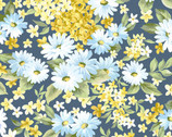 Bristol - Daisy Floral Blue from Paintbrush Studio