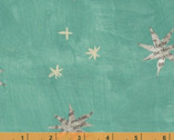 Wonder - Stars Aqua by Carrie Bloomston from Windham Fabrics