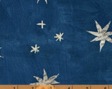 Wonder - Stars Navy Blue by Carrie Bloomston from Windham Fabrics
