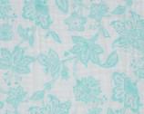 "Embrace - Aruba Floral DOUBLE GAUZE 49"" Wide from Shannon Fabrics"