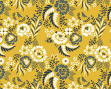 Merryweather - Floral Marigold by Arleen Hillyer from Birch Fabrics