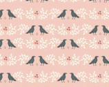 Merryweather - Nevermore Pink by Arleen Hillyer from Birch Fabrics