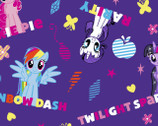 My Little Pony - Ponies and Names Purple from Springs Creative