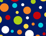 Off We Go - Large Dot Blue from Laura Stone from Studio E