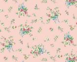 Dear Little World - Floral Spray Pink from Quilt Gate