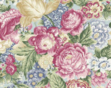 Romance - Large Floral Toss Ross by Jason Yenter from In The Beginning Fabric8086