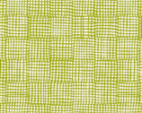 Cats and Dogs - Grid Green by Sarah Golden from Andover Fabrics