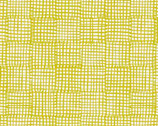 Cats and Dogs - Grid Yellow by Sarah Golden from Andover Fabrics