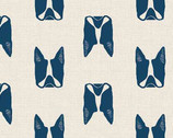 Cats and Dogs - Dogs Blue by Sarah Golden from Andover Fabrics