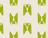 Cats and Dogs - Dogs Green by Sarah Golden from Andover Fabrics