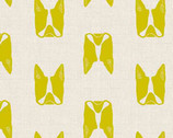 Cats and Dogs - Dogs Yellow by Sarah Golden from Andover Fabrics