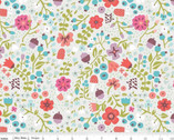 Little Red in the Woods - Floral Cream by Jill Howarth from Riley Blake Fabric