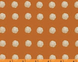 Lemmikki - Piste Dots Orange by Lotta Jansdotter from Windham Fabrics