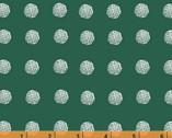 Lemmikki - Piste Dots Teal Green by Lotta Jansdotter from Windham Fabrics