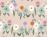 Daisy Chain - Multi Floral Pink by Annabel Wrigley from Windham Fabrics