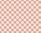 Love Me Love Me Not - Retro Daisy Pink from Lewis and Irene Fabric