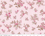 English Rose - Bunches Pink by Penny Rose Studio from Riley Blake Fabric