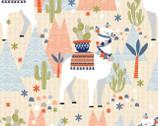 Llama Llama - Fixed Llama Tan from Quilter's Palette Fabric