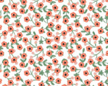 Glorious Garden - Light Cram Small Flowers from Quilter's Palette Fabric