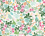 Paradise City - Tropical Floral Cream from Dear Stella Fabric