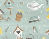Smitten with Spring - Spring Shower Objects by Whistler Studios from Windham Fabrics
