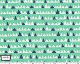 Everglades - Bad Teeth Mint from Michael Miller Fabric