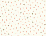 Doodle Day - Triangles Pink from Makower UK Fabric