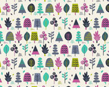 Windy Day - Trees from Makower UK Fabric
