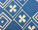 Handcrafted Patchwork Batik - Tile Cornflower Blue from Andover Fabrics