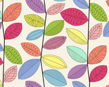 Uptown - Rainbow Vines by Kim Schaefer from Andover Fabrics