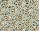 Cloverdale House - Pom Pom Posey by Di Ford Hall from Andover Fabrics