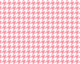 Lil Sprout Too FLANNEL - Houndstooth Pink by Kim Christopherson from Maywood Studio Fabric