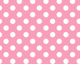 Lil Sprout Too FLANNEL - Dots Pink by Kim Christopherson from Maywood Studio Fabric