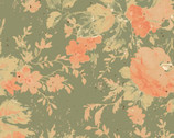 Love Lives Here - Floral from Clothworks Fabrics