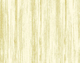 Metallic Mixers GOLD - Stripe Cream by Kanvas Studio from Benartex Fabric