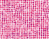 Finger Painted Floral - Pink Dot by Whistler Studios from Windman Fabrics