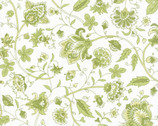 Summer Breeze - Leaf Floral Green by Sentimental Studios from Moda Fabrics