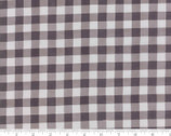 Homegrown - Checkered Gingham Tan Dark Grey by Deb Strain from Moda Fabrics